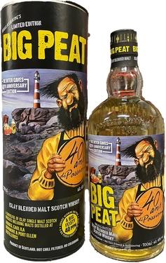 Whisky Ecosse Islay Blend Big Peat Small Batch D.laing Ed.limitee I.c. 48% 70cl