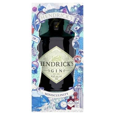 Gin Ecosse Hendricks Minisculinity 41.4% 35cl Sous Etui
