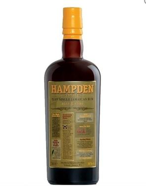 Rhum Jamaique Hampden 8 Ans 46% 70cl