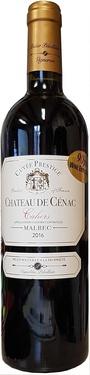 Cahors Chateau De Cenac Prestige 2016