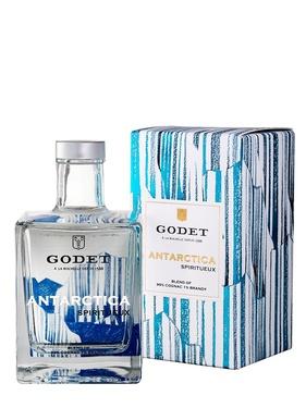 Godet Cognac White Antartica 40° 50cl