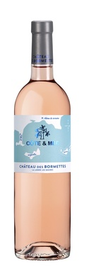 Ctes Provence Rose Cote&mer Chateau Des Bormettes 2020