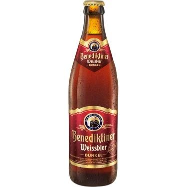 Biere Allemagne Benediktiner Dunkel Weissbier 0.50 5.4%